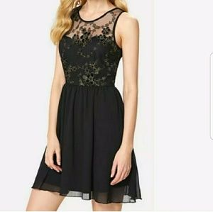 Dresses & Skirts - The EMMA Black Skater Dress